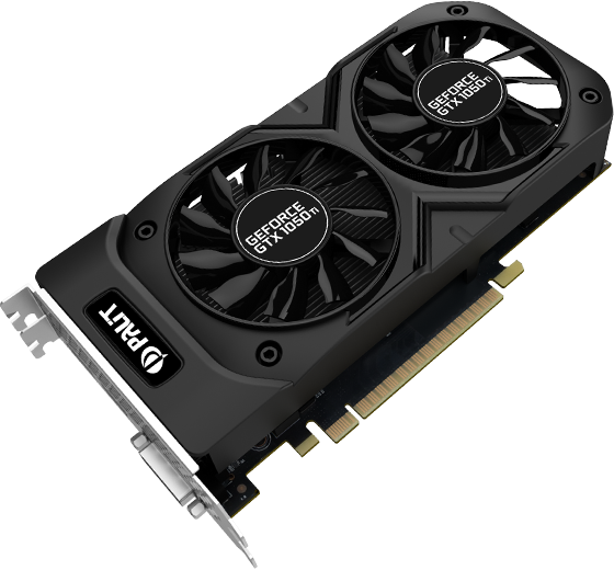 Placa Video Palit GeForce GTX 1050 Ti Dual 4GB GDDR5 128 biti