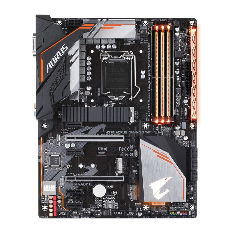 Placa de baza Gigabyte H370 AORUS GAMING 3 WIFI socket 1151
