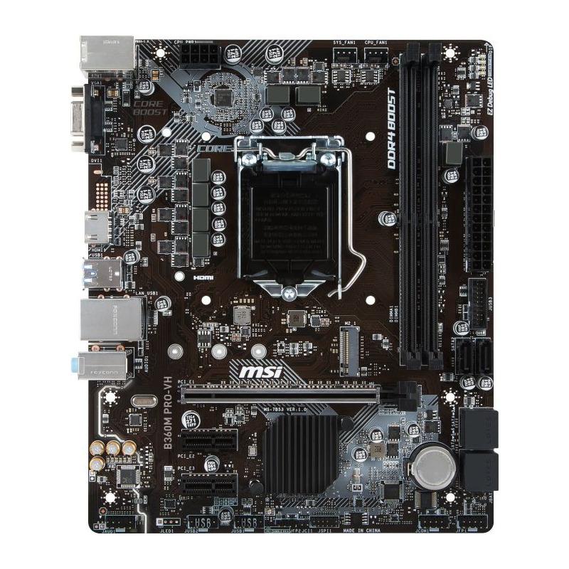 Placa de baza MSI B360M PRO-VH socket 1151
