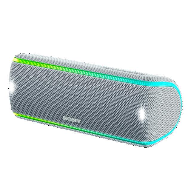 Boxa portabila Sony SRS-XB31 Wi-Fi Extra BASS NFC Alb