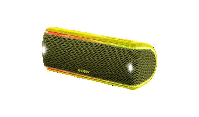 Boxa portabila Sony SRS-XB31 Wi-Fi Extra BASS NFC Galben
