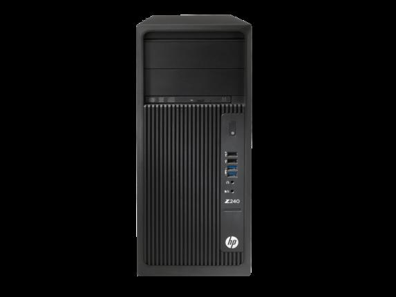 Sistem Brand HP Z240 Tower Intel Core i7-7700 K600-2GB RAM 8GB SSD 256GB Windows 10 Pro