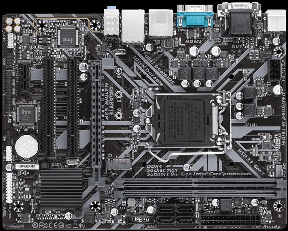 Placa de baza Gigabyte H310M S2P Socket 1151