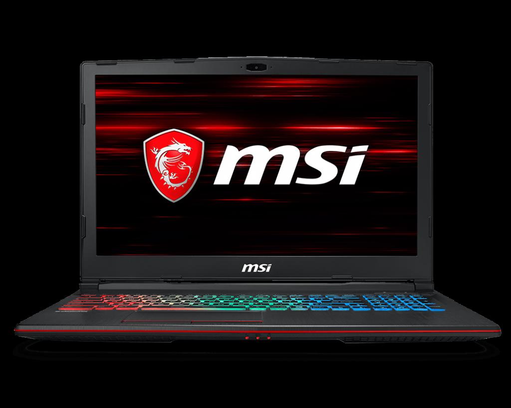 Notebook MSI GP63 Leopard 8RE 15.6 Full HD Intel Core i7-8750H GTX 1060-6GB RAM 8GB HDD 1TB + SSD 128GB FreeDOS