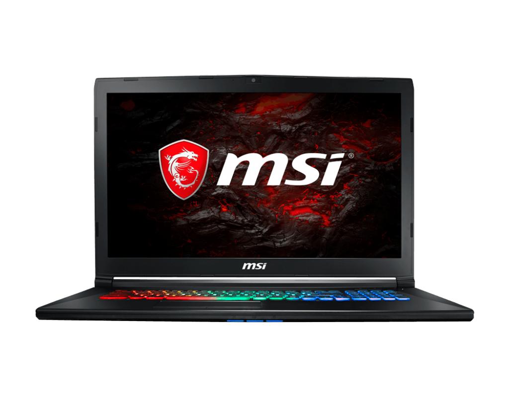 Notebook MSI GP72MVR 7RFX Leopard Pro 17.3 Full HD Intel Core i7-7700HQ GTX 1060-6GB RAM 8GB HDD 1TB + SSD 128GB FreeDOS Negru