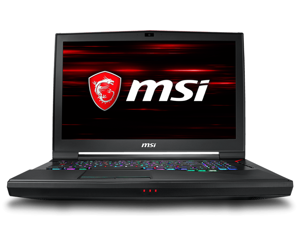 Notebook MSI GT75 Titan 8RF 17.3 Full HD Intel Core i9-8950HK GTX 1070 SLI-8GB RAM 32GB HDD 1TB + SSD 512GB Windows 10 Home