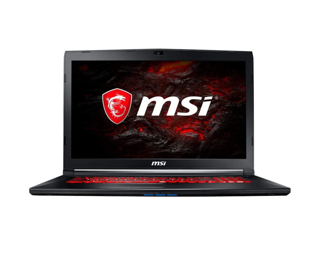 Notebook MSI GL72M 7RDX 17.3 Full HD Intel Core i5-7300HQ GTX 1050-4GB RAM 8GB HDD 1TB FreeDOS