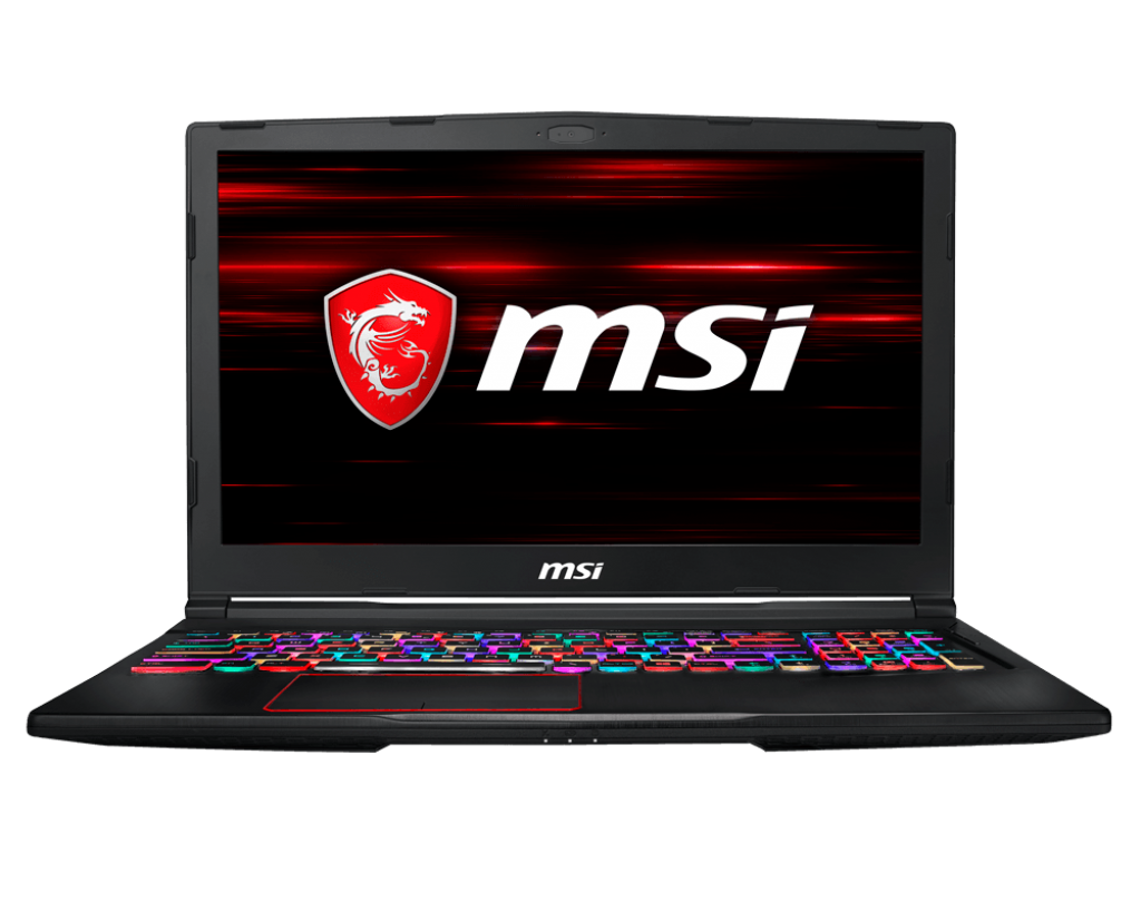 Notebook MSI GE63 Raider RGB 8RE 15.6 Full HD Intel Core i7-8750H GTX 1060-6GB RAM 16GB HDD 1TB + SSD 128GB FreeDOS