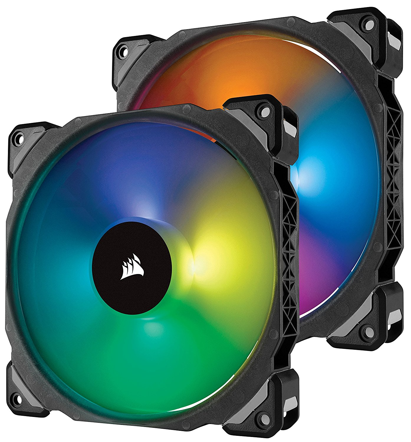 Ventilator Corsair ML140 Pro RGB LED 140mm PWM Twin Pack with Lightning Node PRO