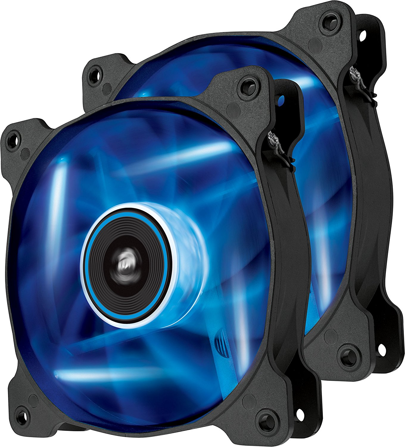 Ventilator Corsair Air Series SP120 High Static Pressure 120mm LED Blue Twin Pack