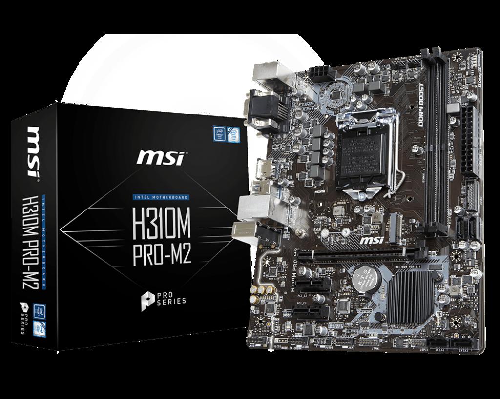 Placa de baza MSI H310M PRO-M2 Socket 1151