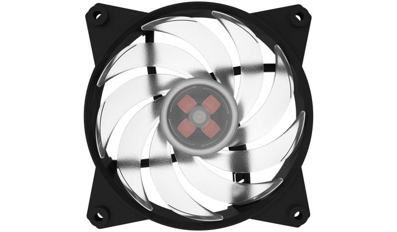 Ventilator Cooler Master MasterFan Pro 120 Air Balance RGB