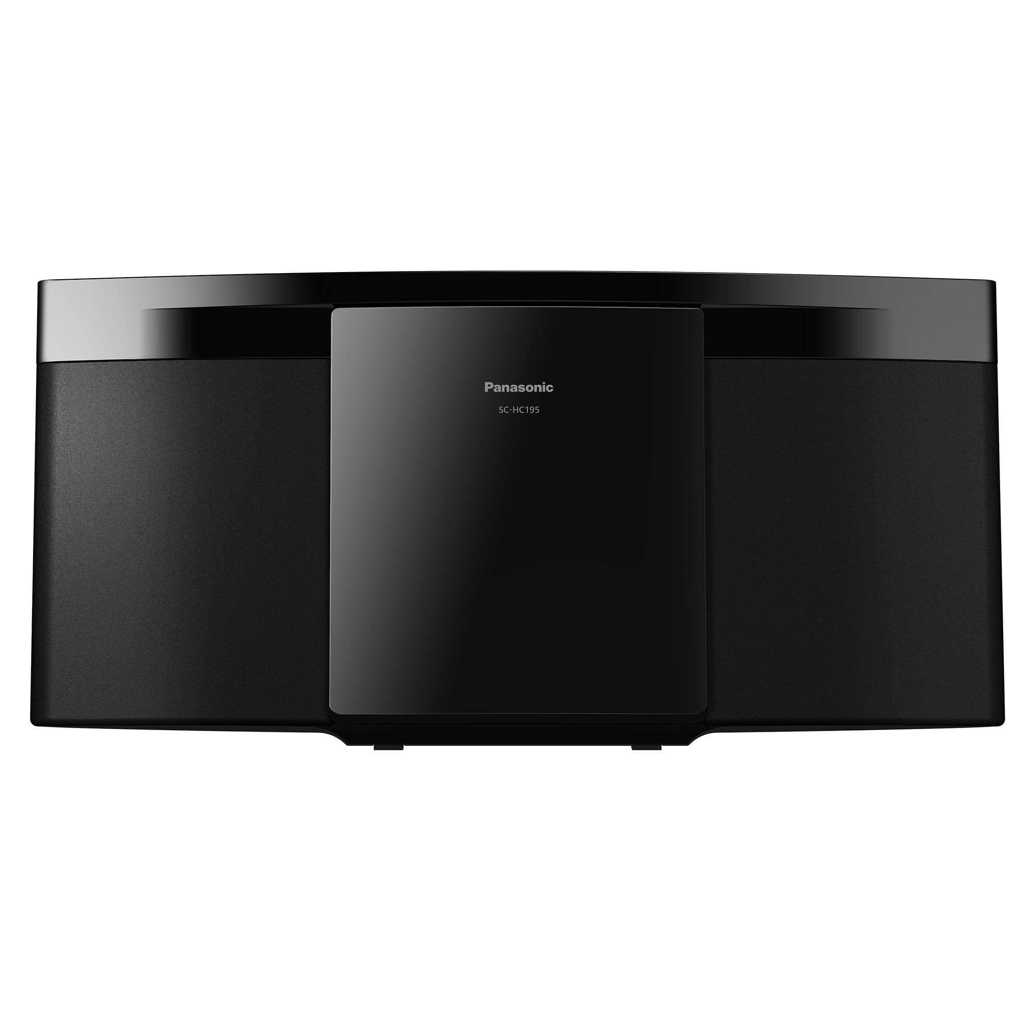Microsistem Panasonic SC-HC195EG-K 20W USB FM Negru