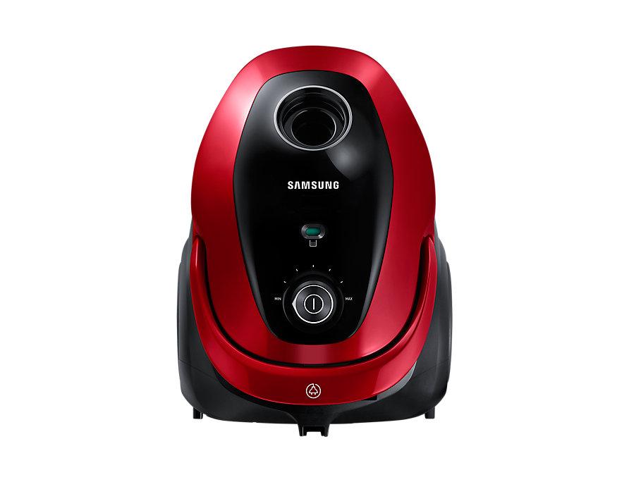 Aspirator cu sac Samsung VC07M25E0WR 750W 2.5L Rosu