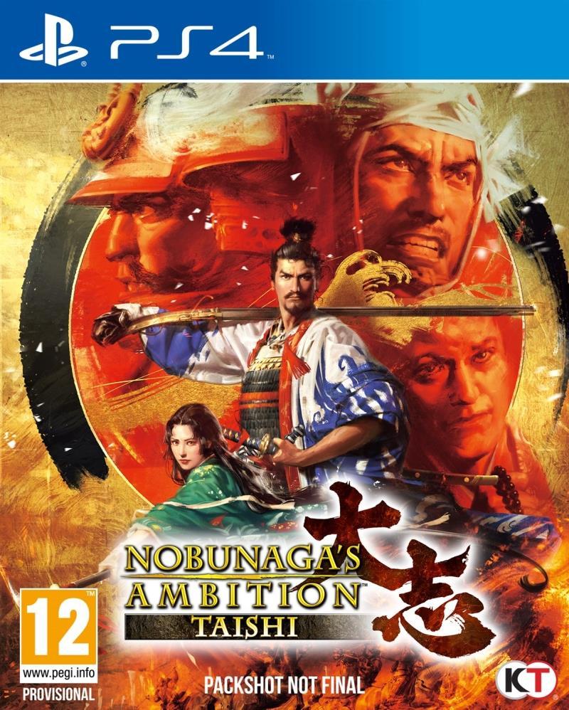 Nobunagas Ambition Taishi - PS4