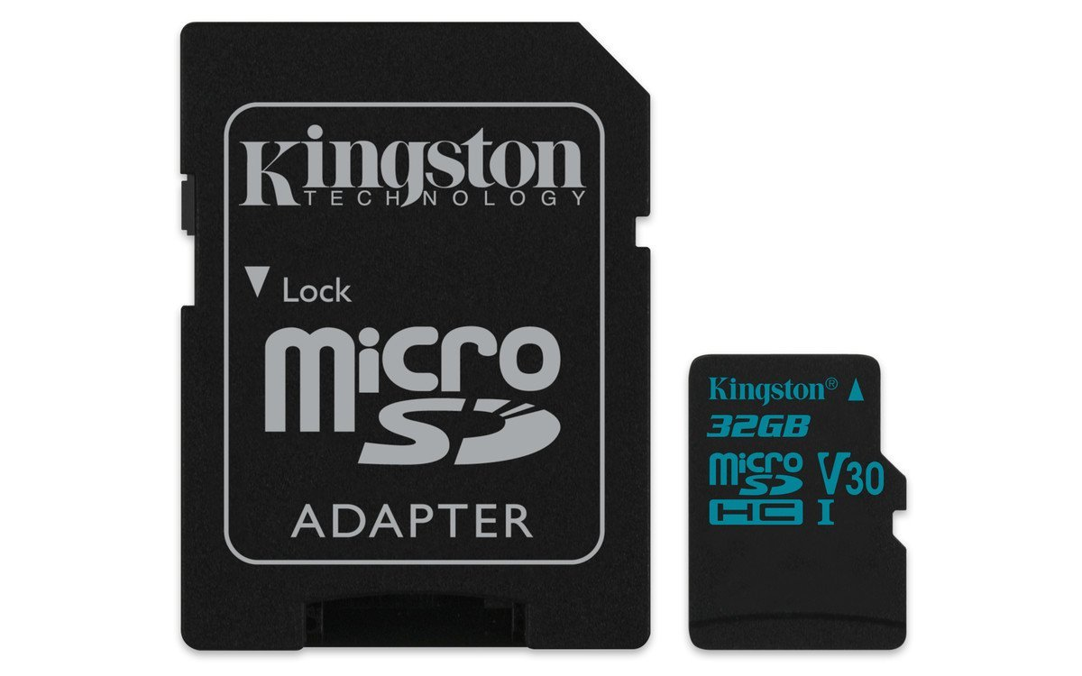 Card de memorie Kingston microSDHC Canvas Go! 32GB Clasa 10 UHS-I U3 Adaptor SD