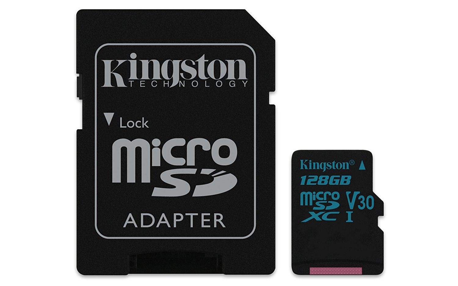 Card de memorie Kingston microSDXC Canvas Go! 128GB Clasa 10 UHS-I U3 Adaptor SD