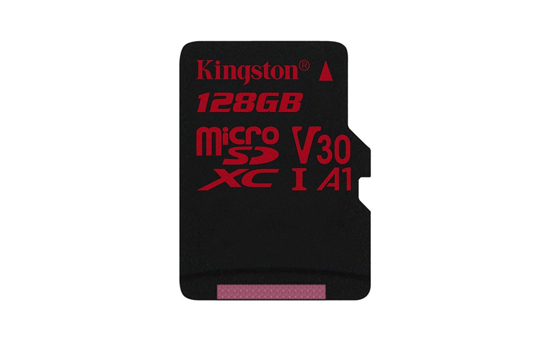 Card de memorie Kingston microSDXC Canvas React 128GB Clasa 10 UHS-I U3