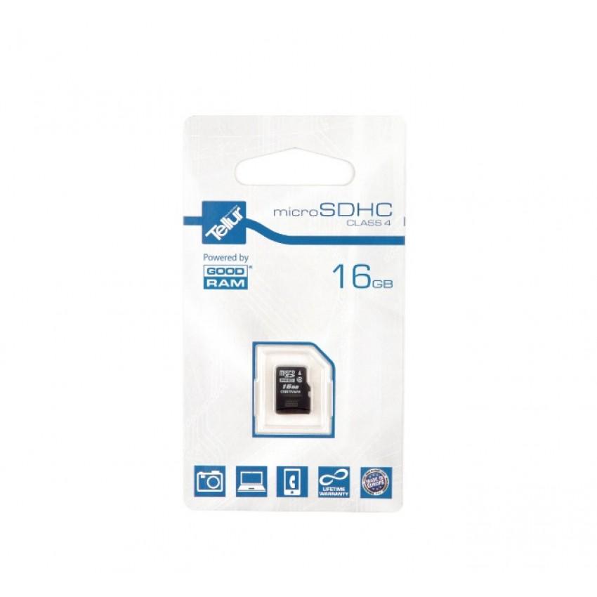 Card de memorie Tellur MicroSDHC 16GB Clasa 4