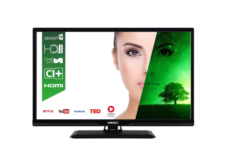 Televizor LED Horizon Smart TV 24HL7130H 61cm HD Ready Negru