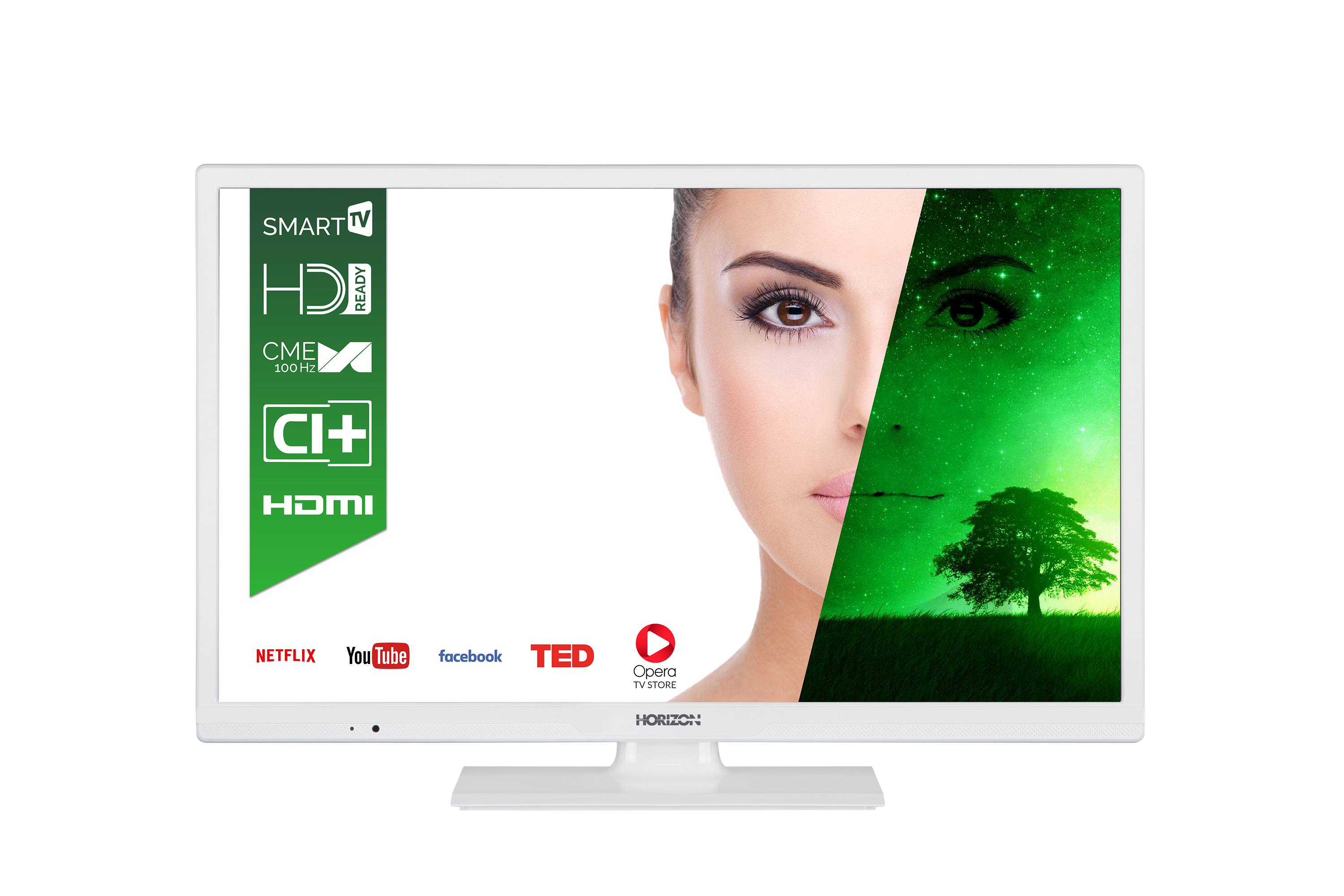 Televizor LED Horizon Smart TV 24HL7131H 61cm HD Ready Alb
