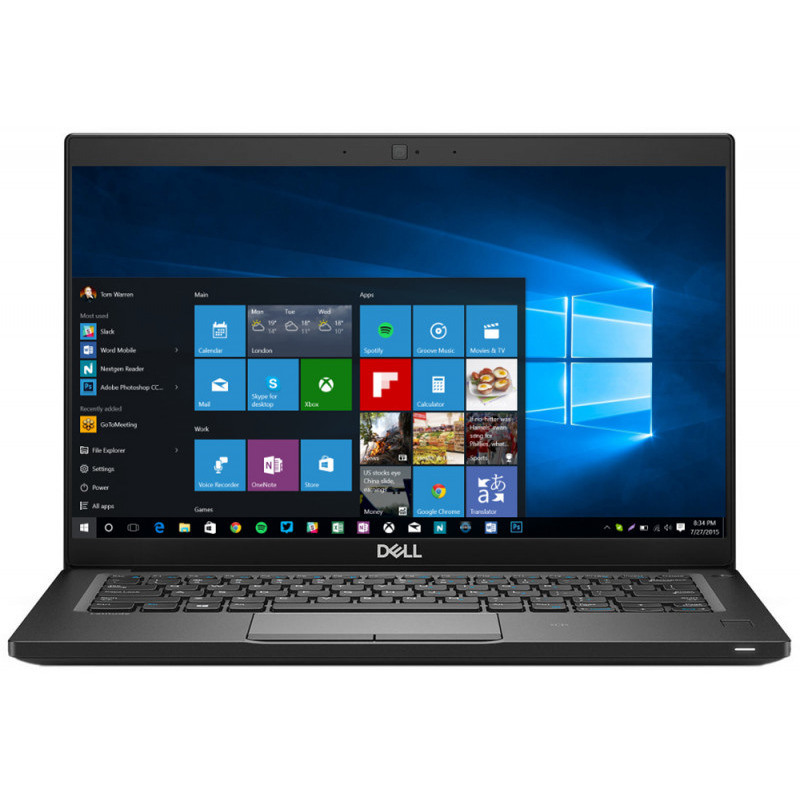 Notebook Dell Latitude 7390 13.3 Full HD Intel Core i7-8650U RAM 16GB SSD 512GB Windows 10 Pro