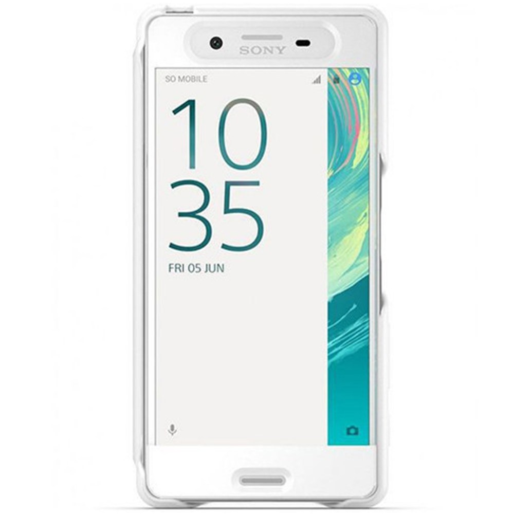 Husa de protectie Sony Touch Style Cover pentru Xperia X Compact White