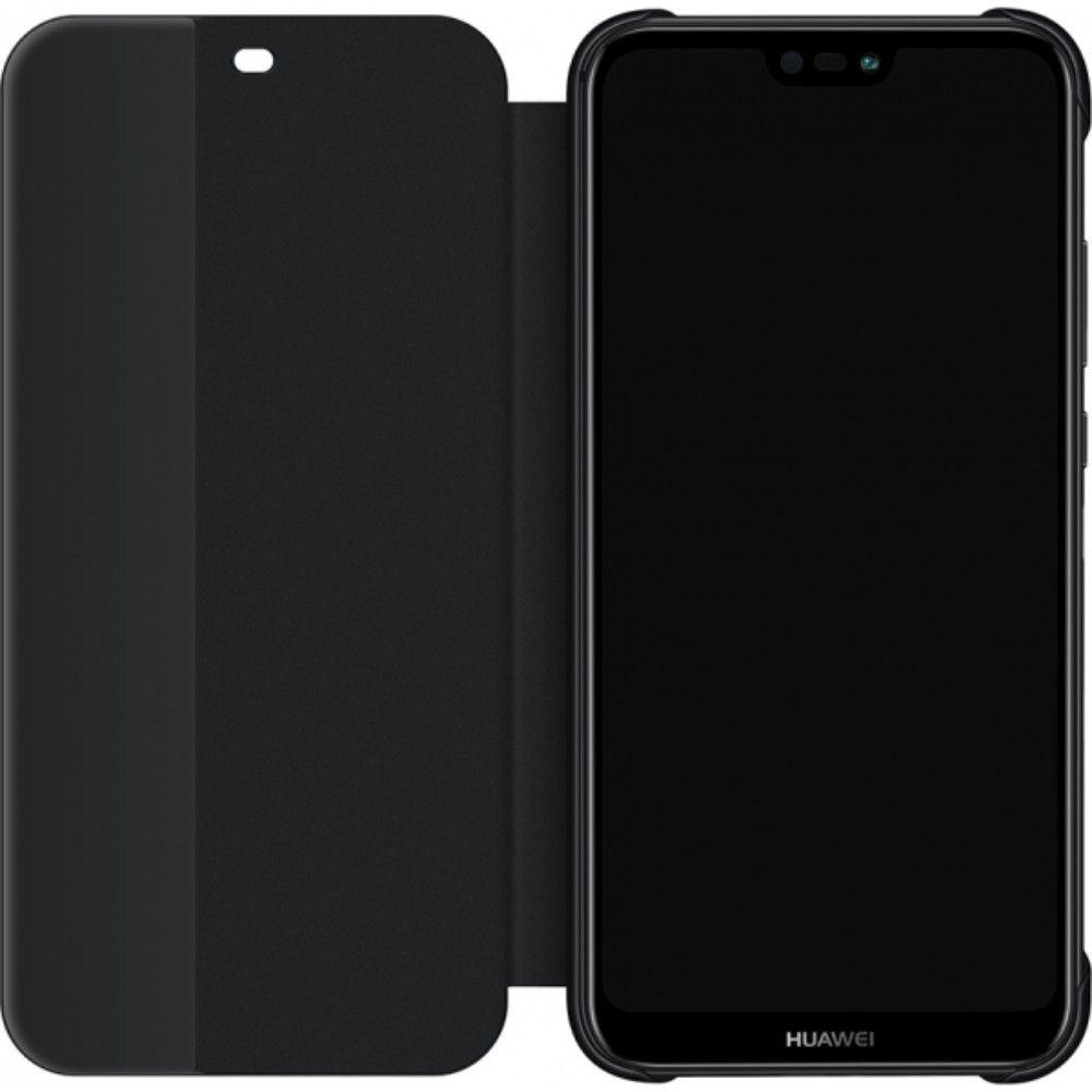 Husa de protectie Flip Cover pentru Huawei P20 Lite Black