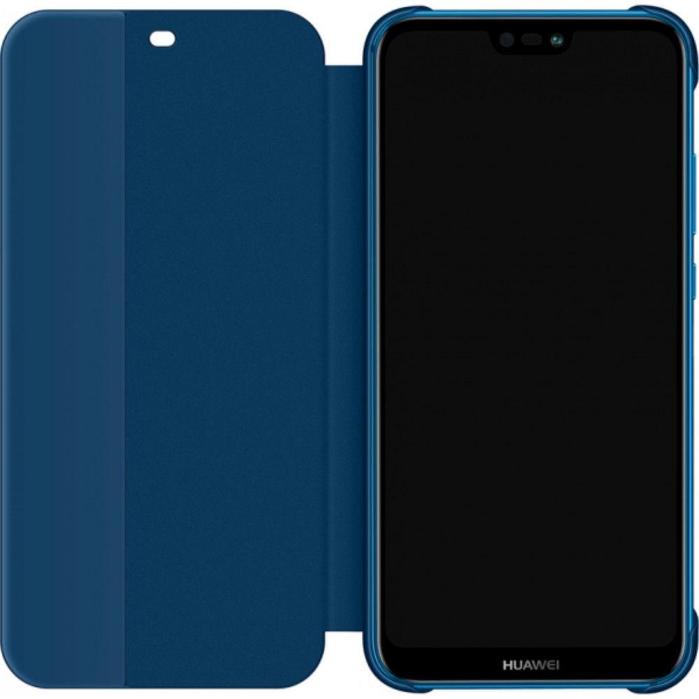 Husa de protectie Flip Cover pentru Huawei P20 Lite Blue