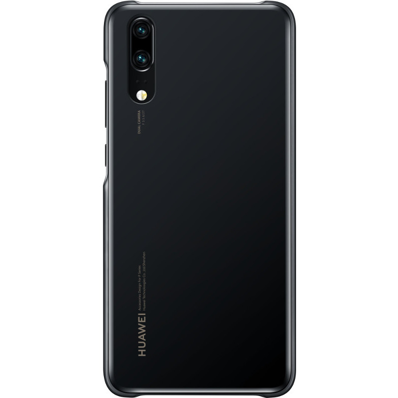 Capac protectie spate pentru Huawei P20 Black