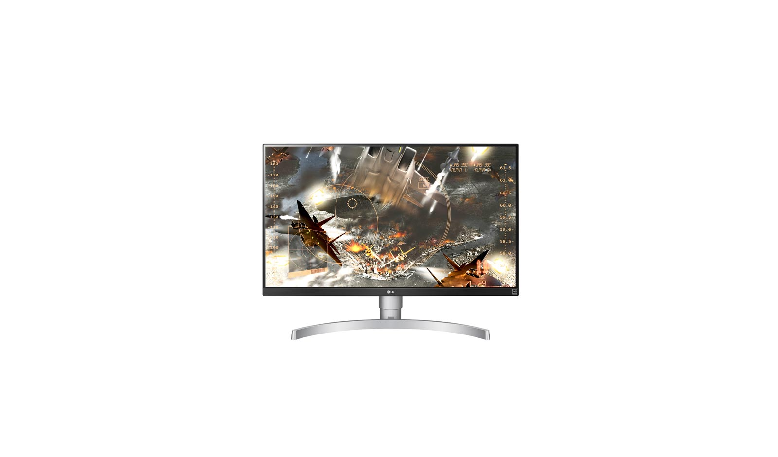 Monitor LED LG 27UK650-W 27'' 4K Ultra HD 5ms Alb