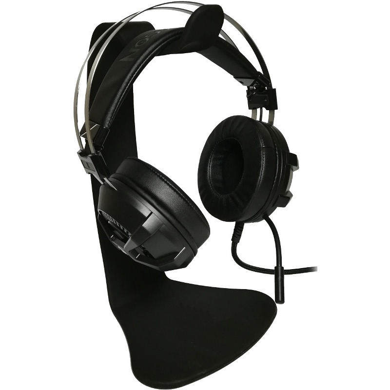 Casti Gaming cu microfon Redragon Bio Black