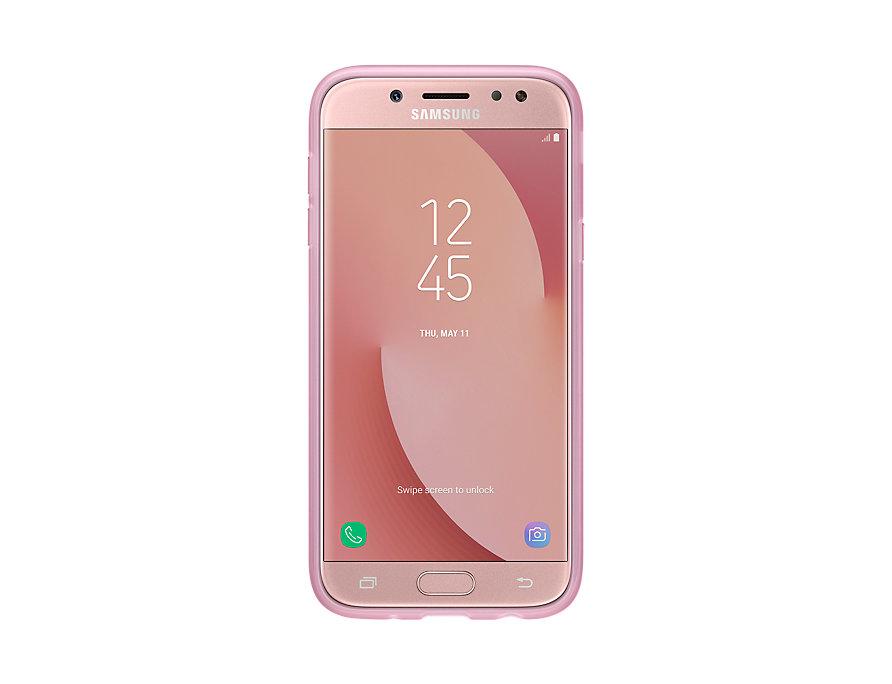 Capac protectie spate Jelly Cover pentru Samsung Galaxy J5 2017 (J530) Pink