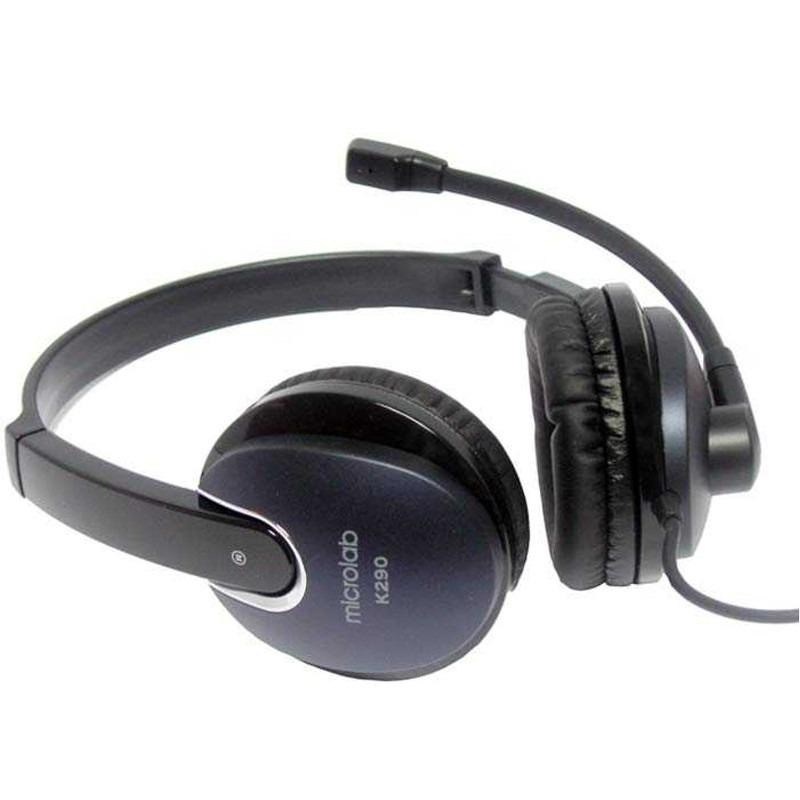 Casti Microlab K290 Black Blue