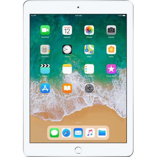 Tableta Apple iPad 9.7 (2018) 128GB WiFi Silver