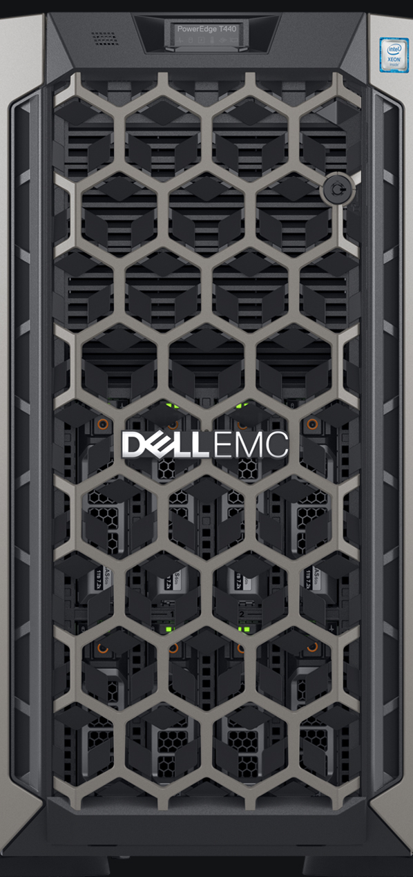 Server Dell PowerEdge T440 Intel Xeon Silver 4110 16GB RAM 120GB SSD PERC H330+ 750W Single HotPlug