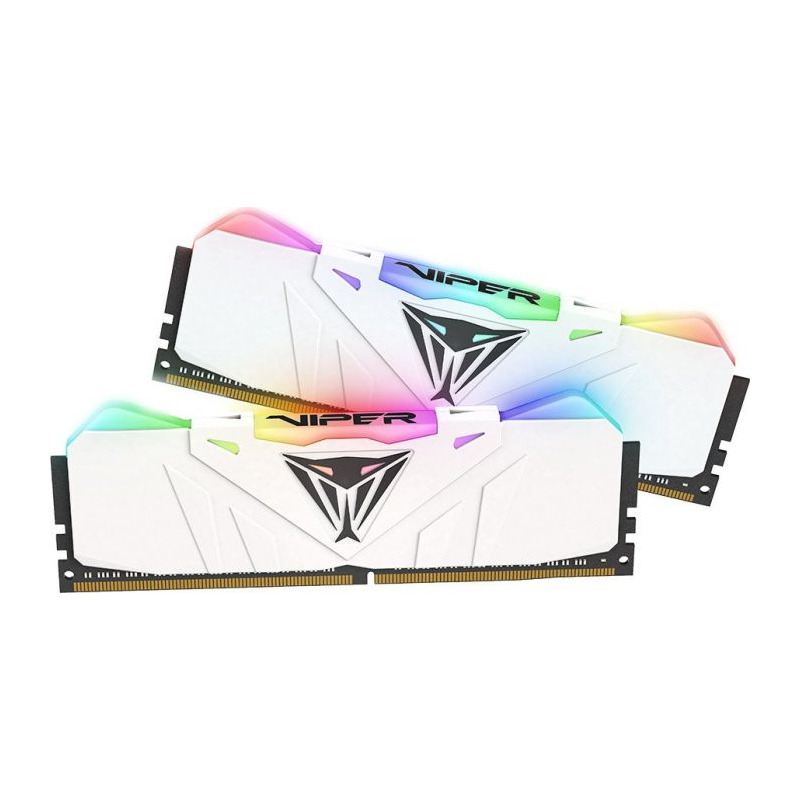 Memorie Desktop Patriot Viper RGB 16GB (2x8GB) DDR4 3200MHz White