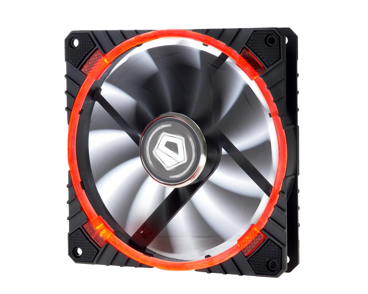 Ventilator ID-Cooling CF-14025-R 140mm Red LED