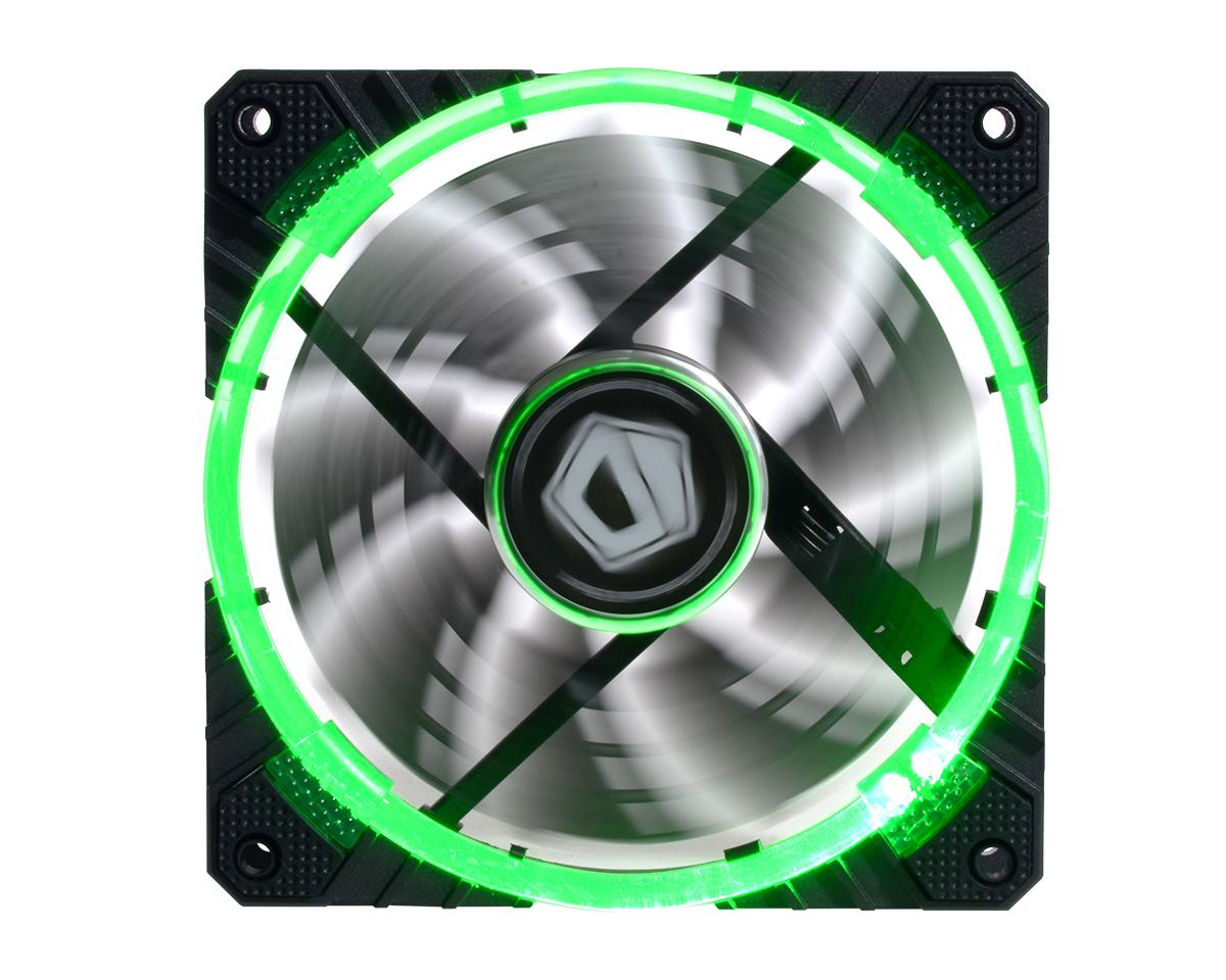 Ventilator ID-Cooling CF-12025-R 120mm Green LED