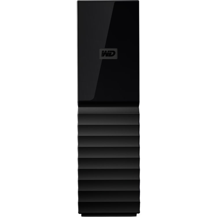 Hard Disk Extern Western Digital My Book 10TB USB 3.0 Negru