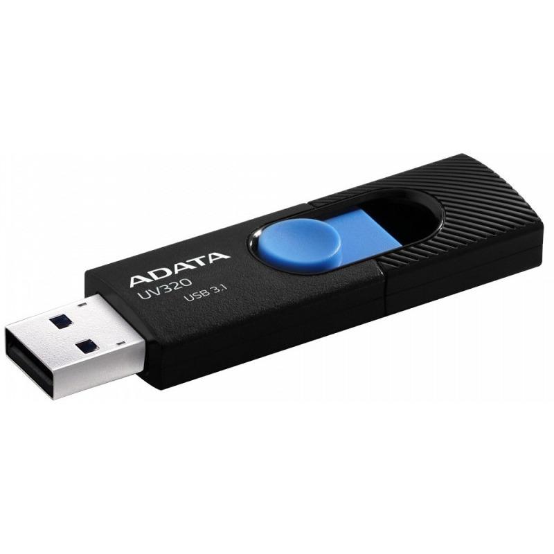 Flash Drive A-Data UV320 64GB USB 3.1 Black-Blue