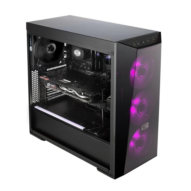 Carcasa PC Cooler Master MASTERBOX LITE 5 RGB w/ RGB Controller