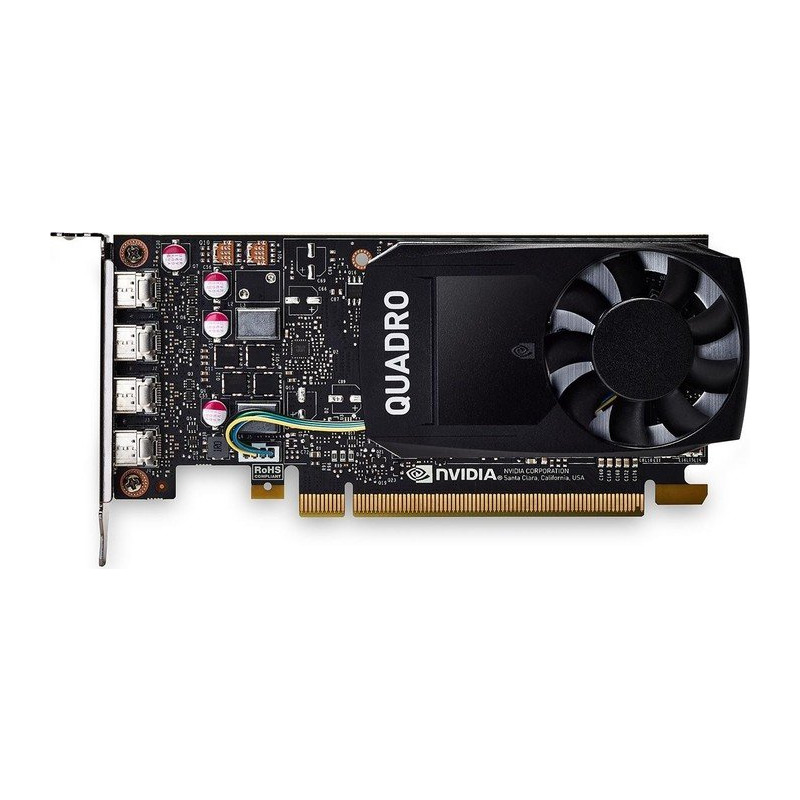 Placa Video Profesionala PNY nVidia Quadro P620 2GB GDDR5 128 biti Low Profile DVI