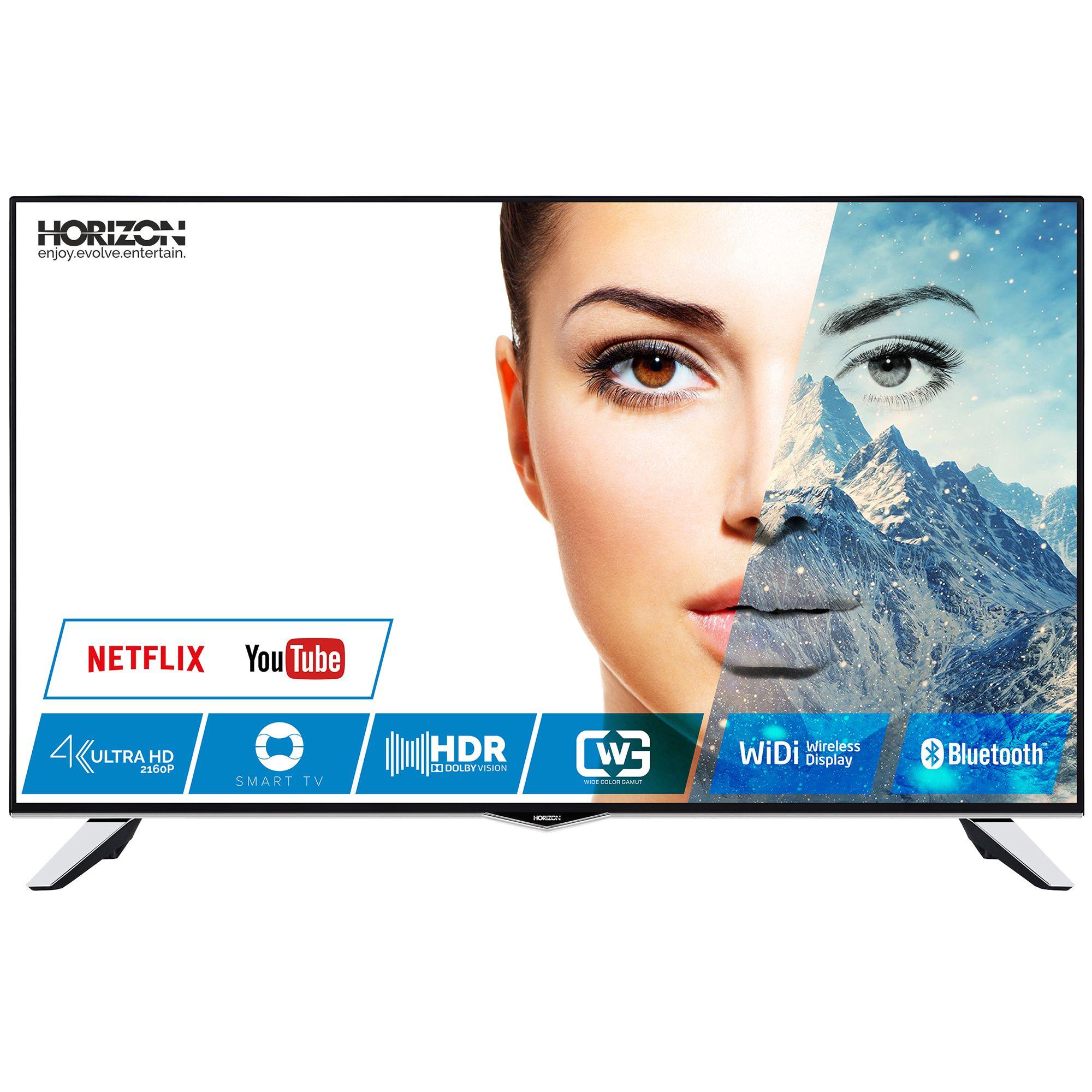 Televizor LED Horizon Smart TV 49HL8530U 124cm 4K Ultra HD Negru