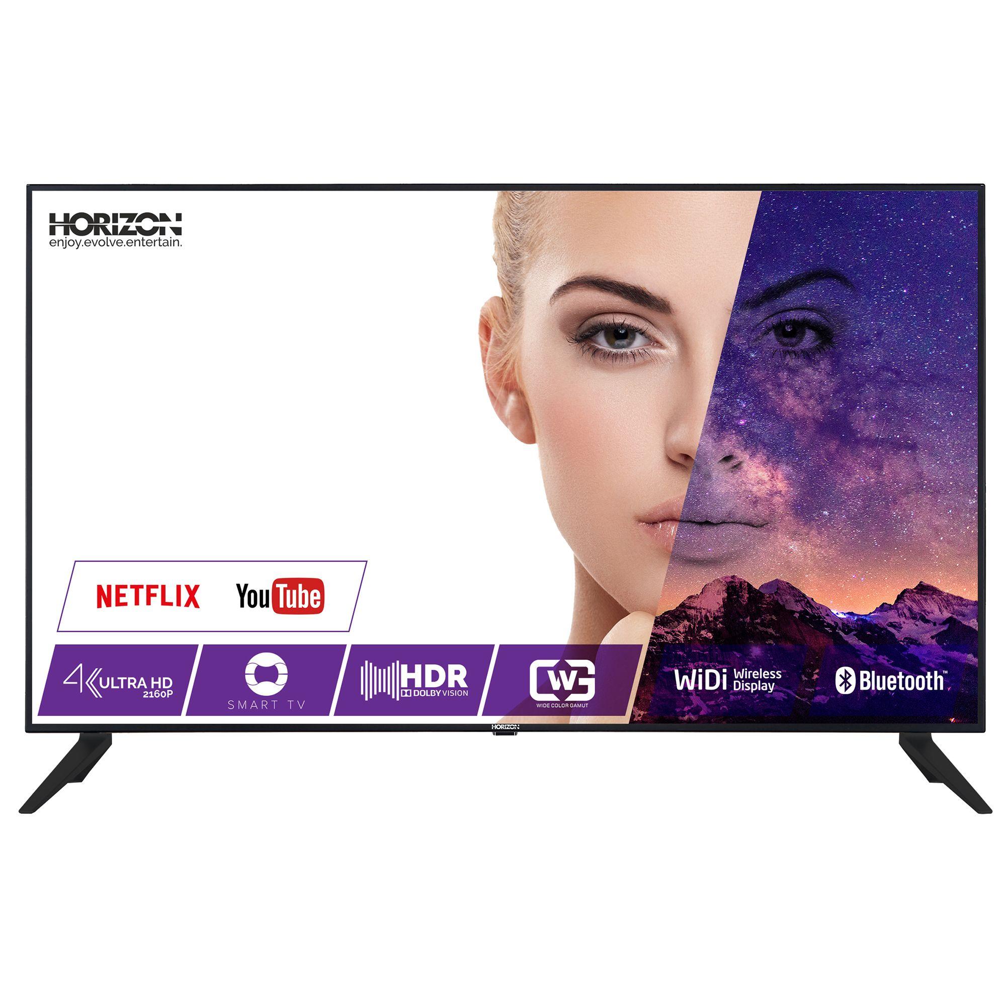 Televizor LED Horizon Smart TV 43HL9730U 109cm 4K Ultra HD Negru