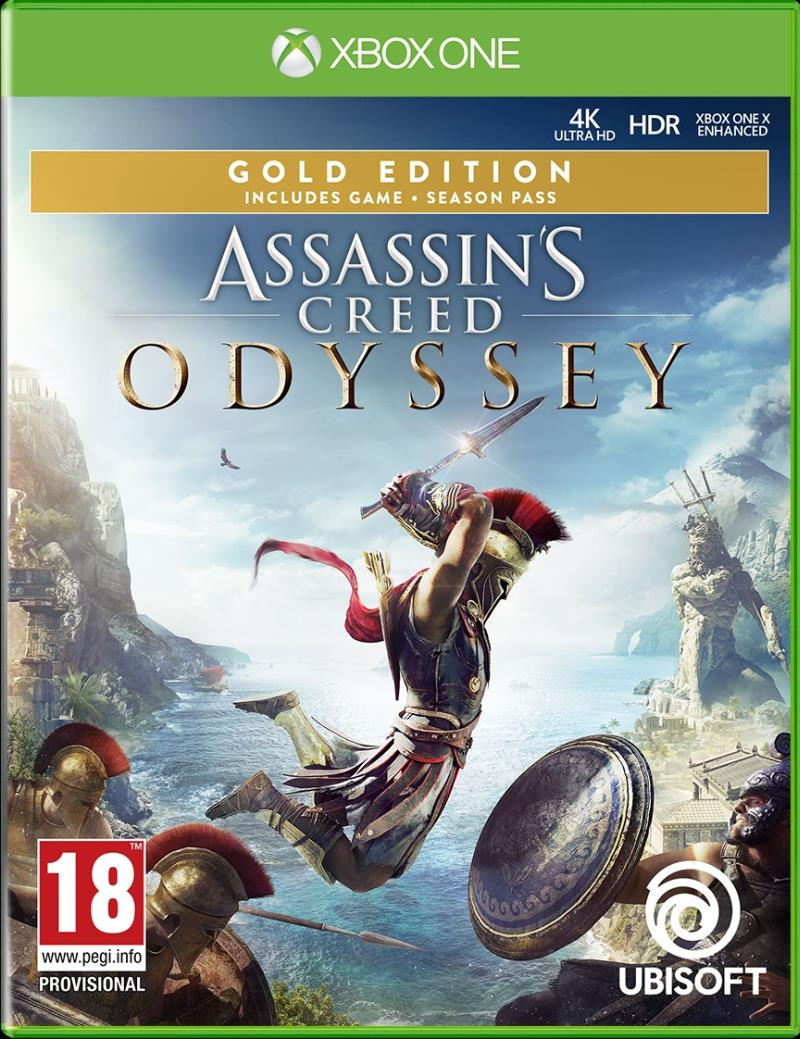 Assassins's Creed Odyssey Gold Edition - Xbox One