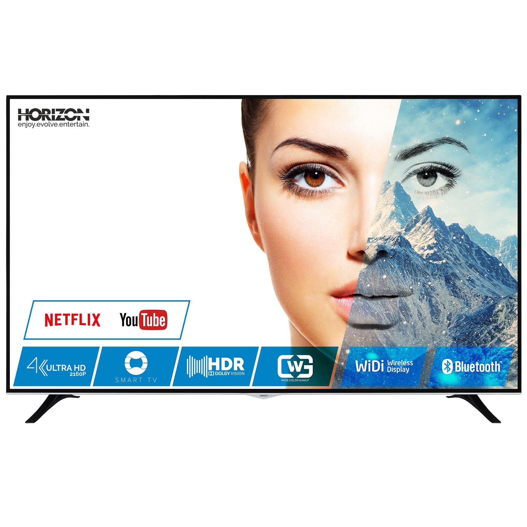 Televizor LED Horizon Smart TV 75HL8530U 190cm 4K Ultra HD Negru