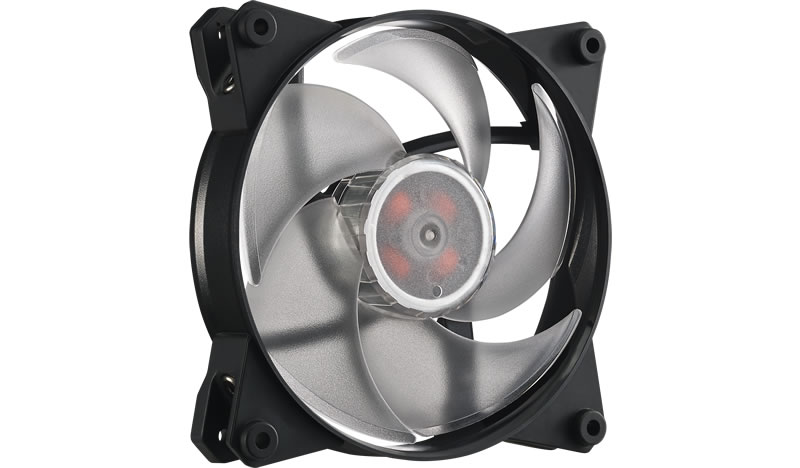 Ventilator Cooler Master MasterFan Pro 120 Air Pressure RGB 3 in 1 with RGB LED Controller