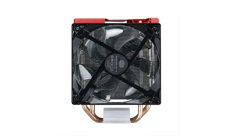 Cooler CPU Cooler Master Hyper 212 LED Turbo Red Cover