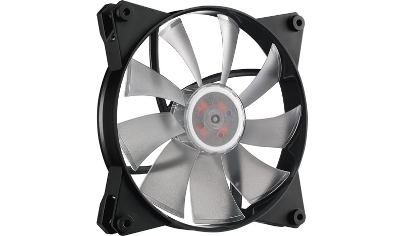 Ventilator Cooler Master MasterFan Pro 140 Air Flow RGB 3 in 1 with RGB LED Controller